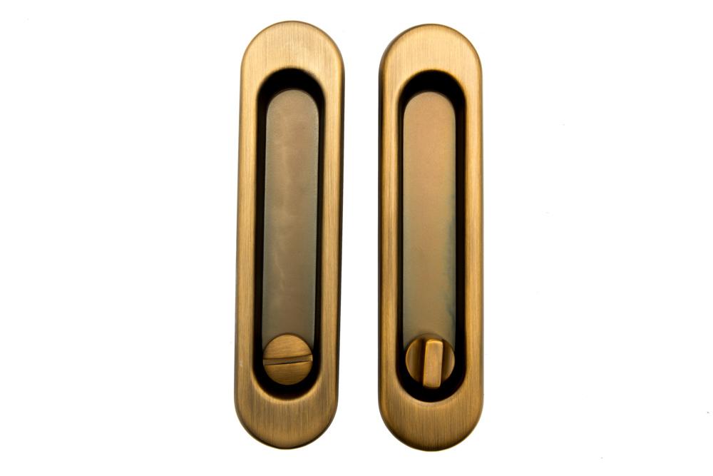 Safita SH011-BK CF Ручки для раздвижных дверей