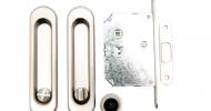 Ручки для раздвижных дверей Safita SH011-BK SN