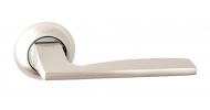 Ручка на розетке Safita 218 R41 SN/CP