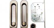 Ручки для раздвижных дверей Safita SH011-BK AB