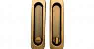 Ручки для раздвижных дверей Safita SH011-BK CF