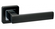 Ручка на розетке Safita STRONG SQ MSB/CP