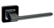 Ручка на розетке Safita RAZOR SQ MSB/CP