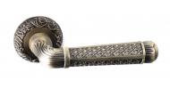 Ручка на розетке Safita R08H 195 MAB