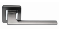 Ручка на розетке Safita RAZOR MSB/CP