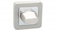 Поворотники дверные Safita WC R40 MSN/CP