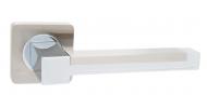 Ручка на розетке Safita R11H 089 SN/CP